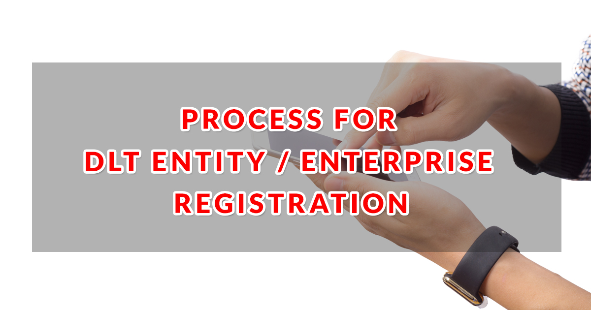 process for entity registration